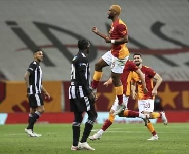 Galatasaray evinde Beşiktaş'ı 3 golle mağlup etti